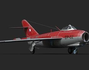 mig-17 Czech 3D