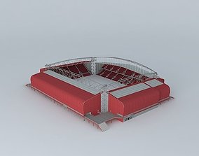 3D Tynecastle Renovated Stadium