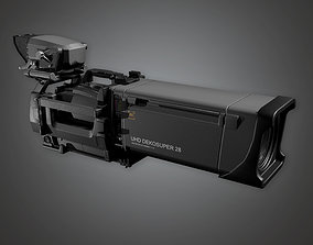 Production Camera 01a HLW - PBR Game 3D asset
