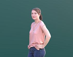 3D model Svenja 10523 - Standing Casual Girl