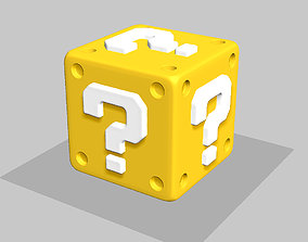 3D printable model Super Mario Mystery Block