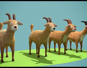 Christmas deer 3D print model