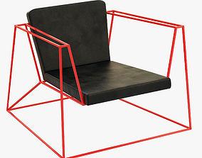 3D model Home Ideas Supply Heavy metall Armchair