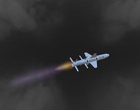 VR / AR ready AVTM300 Missile Model