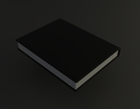 diary Animated Book 3D model