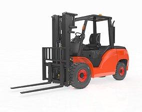 3D model Animated Forklift