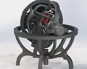 3D printable model Gyroscope tourbillon - mechanical 2