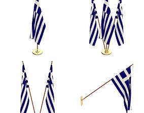 3D Greece Flag Pack