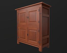 3D model VR / AR ready PBR Cabinet