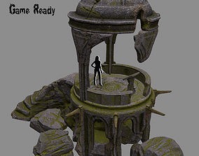 old temple 3D model