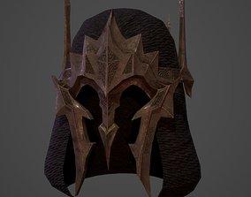 3D asset Battle crown