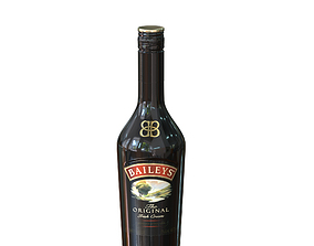 3D Baileys 50cl bottle