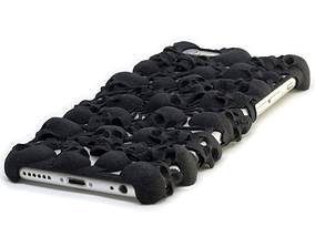 3D print model iPhone 6 Skull Case
