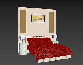 3D print model Master bed