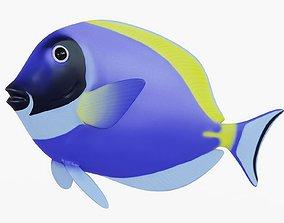 Surgeon Fish Animated 3D model