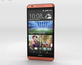 3D HTC Desire 820 Monarch Orange
