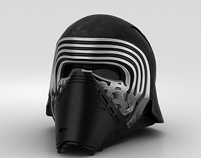 Kylo Ren Helmet 3D