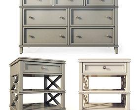 3D Dresser nightstand Anne by Birch Lane