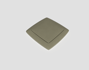 Light Switch Single 3D model