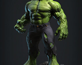 3D print model Incredible Hulk