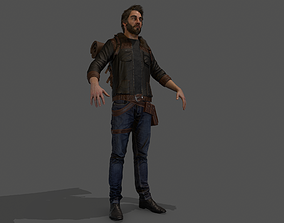 Camper Character 3D asset