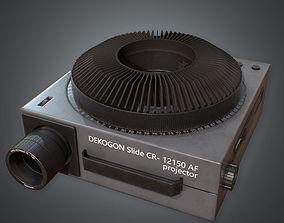 Slide Projector 80s 3D asset
