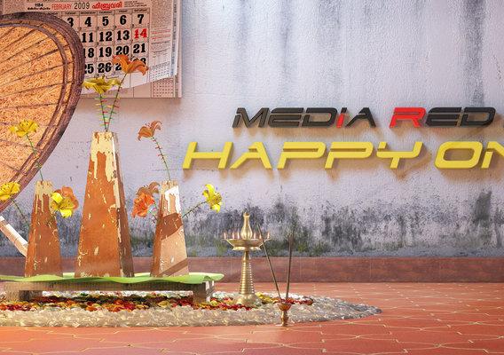 Local Festival Of Peace in Kerala