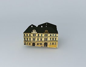 3D Two Gothic houses