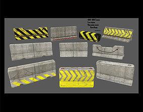 3D asset barrir set 4