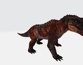 Acrocanthosaurus with Animation 3D asset