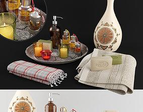 3D model flacon Decorative set for the Turkish bath 01