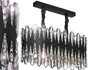 3D model Crystal pendant lamp L75