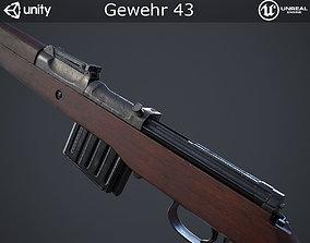 3D asset Gewehr 43 Rifle
