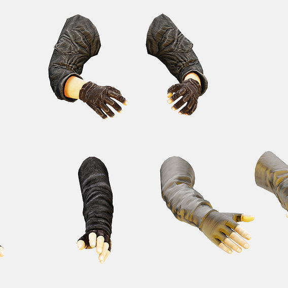 First Person Arms Pack
