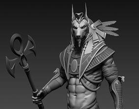 3D Anubis male