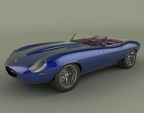 Jaguar E-Type Eagle Speedster 3D