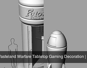 3D model Fallout Wasteland Warfare Tabletop Gaming