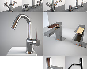 3D model Fantini Mixers Collection