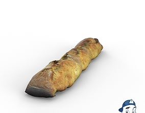 3D French Bread