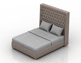 3D asset Large Grantham Bed