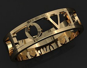Ring Love 3D printable model