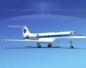 Grumman Gulfstream G-II NASA 3D