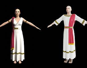 Ancient Greece Clothing 3D asset
