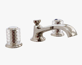 Kallista - Script Sink Faucet Low Spout 3D model 1