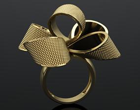 MGold048 Bow Knot Ring 3dmodel 3D print 3dm stl 3D 1