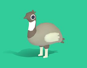 Emma the Emu - Quirky Series 3D model