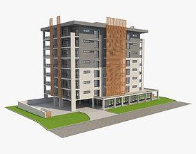 Apartment Building 8 3D