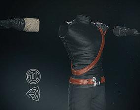 Male Ninja Outfit 3D asset