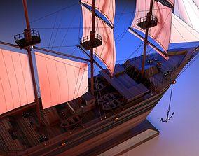 Sail Boat Miniature 3D model