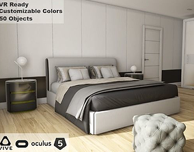 pack 3D asset ArchViz HQ Bedroom